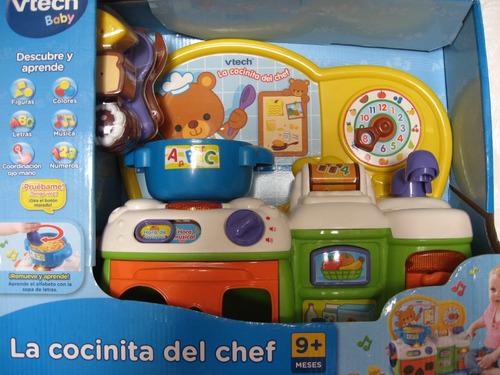 Imagen 1 de 5 de Cocina Musical Educativa Abc Colores Numeros Formas Oferta