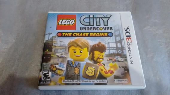 Lego City Undercover Americano Original Completo 3ds