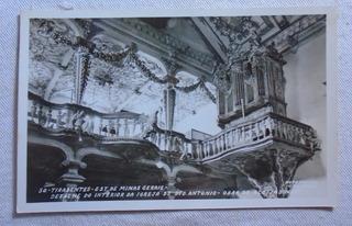 Cartão Postal Igreja Santo Antônio Minas Gerais