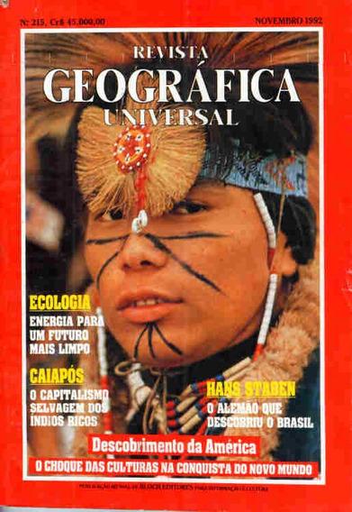 Geográfica Universal 215 * Nov/92