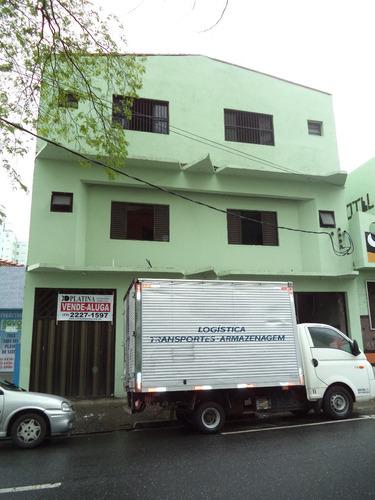 Imagem 1 de 14 de 267 -prédio No Centro De Sto André 2 And. Com 26 Aptos,