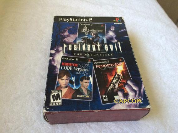Resident Evil The Essentials Contendo Tres Jogos
