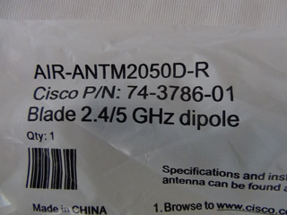 Antena Cisco Air-antm2050d-r N/p 74-3786-01 Blade 2.4/5 Ghz