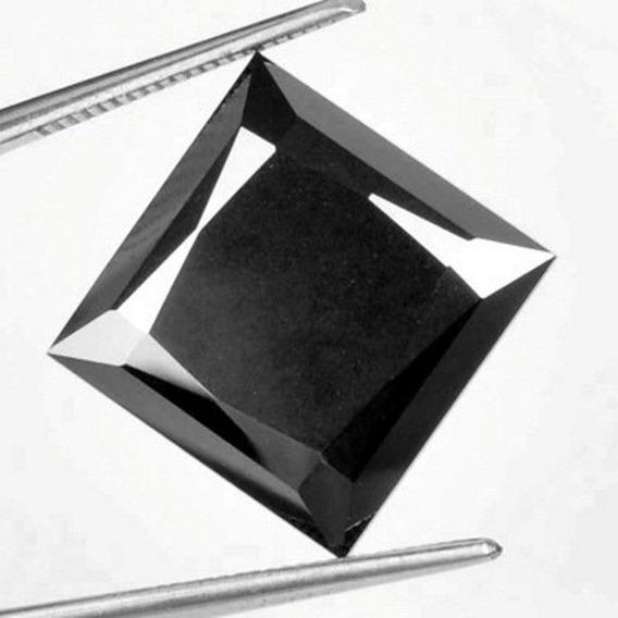 Bellísimo Diamante Negro Cte. Princess 12.68 Ct. Natural