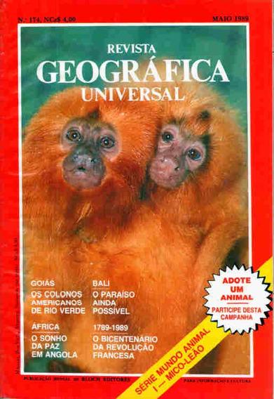 Geográfica Universal 174 * Mai/89