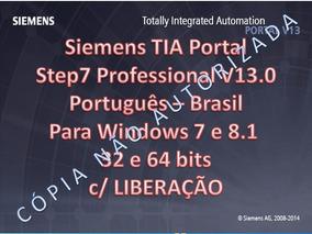 Tia Portal Step7 V13 E Wincc V13 Em Português Licença