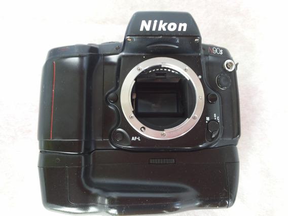 Nikon N90s Com Baterry Back