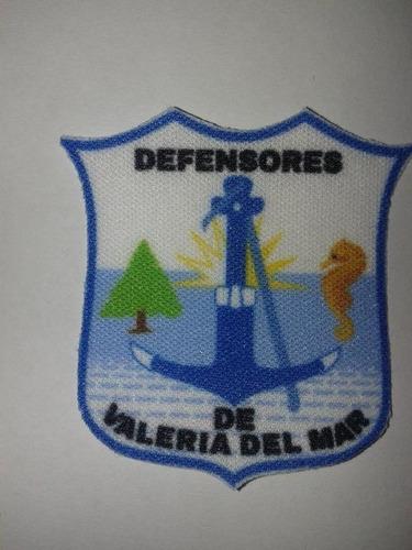 Parche Termoadhesivo Escudo De Defensores De Valeria Del Mar
