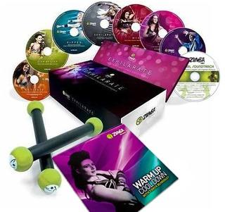Zumba Fitness Polishop 8 Dvds Português/br + Super Brindes