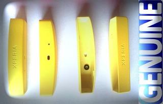 Ponteira (tampa Inferior) Sony Xperia U St25i Amarela