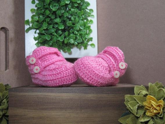 Sapatinhos De Crochê Newborn