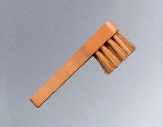 Cepillo Pasa Pomada Lustrar Calzado Betunero En Madera