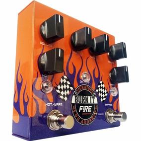 Pedal Guitarra Fire Burn It Edu Ardanuy