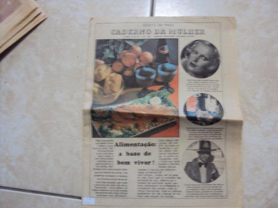 Jornal Gazeta Do Povo Caderno Da Mulher 21-05-75