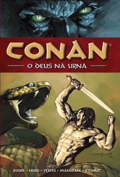 Conan 02 O Deus Na Urna - Mythos 2 - Bonellihq Cx180 C18