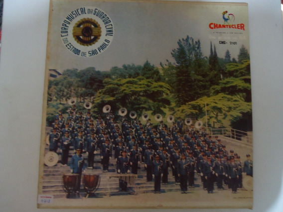 Disco De Vinil Lp Corpo Musical Da Guarda Sivil Waldir Rodri