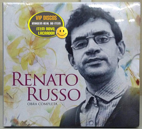 Box Renato Russo Obra Completa Com 5 Cds - Novo Lacrado!