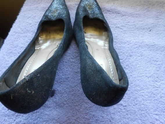 Sapato Feminino Usado Em Bom Estado Nº 37 Ótimo Preço