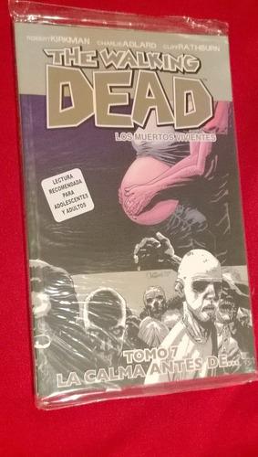 The Walking Dead Tomo 7,la Calma Antes De ..editorial Kamite