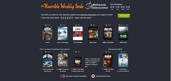 Humble Bundle - Bohemia Interactive - Arma