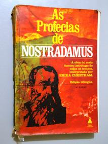 Livro As Profecias De Nostradamus - Erika Cheetham