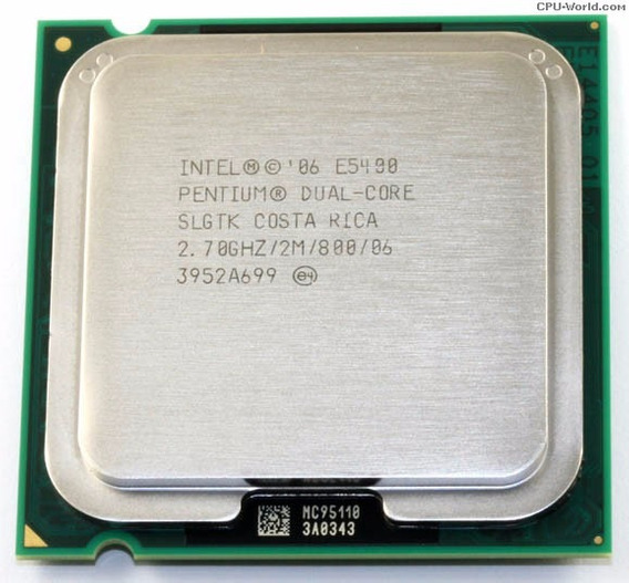 Intel Pentium Dual Core E5400 2.70ghz / 2m / 800 Lga 775