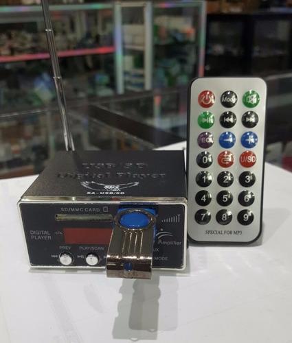 Reproductor Para Adaptar A Equipos De Sonido Usb, Mp3, Radio