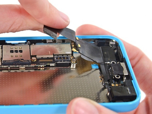 Conector Carga + Audio + Microfono Flex iPhone 5c | Garantia