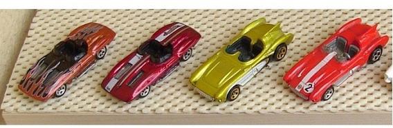 4 Clássicos Chevrolet Corvettes Sting Ray E Sr-2 Raridades