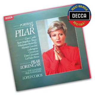 Cd : Most Wanted Recitals: Portrait Of Pilar - Most Want...