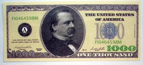Billete Mil Dolares