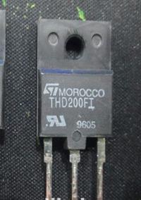Transistor Thd200fi, Hv 1500v/10a
