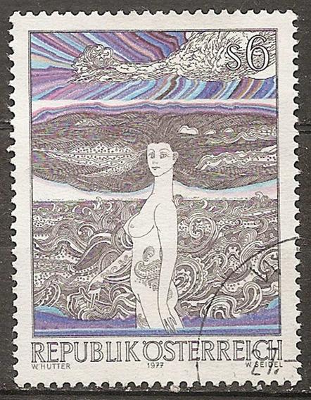 Austria Serie Yv 1394 Arte Moderno Año1977# Un Valor