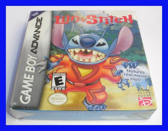 Lilo Stitch 1 Game Boy Advance Gba Lacrado Mario Disney