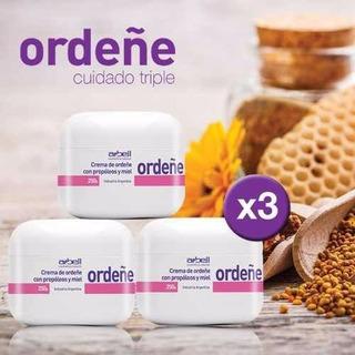 3 Cremas De Ordeñe 100% Natural Antiedad Humectante