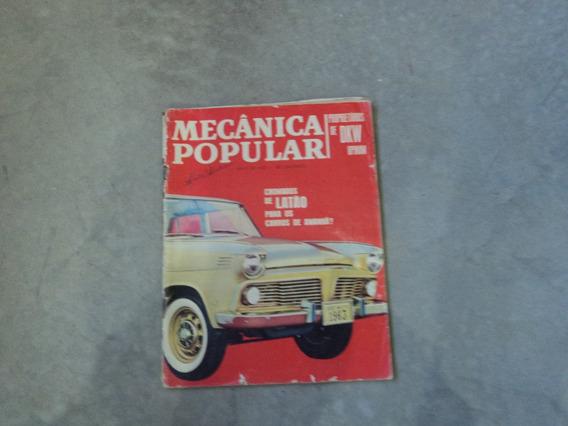Revista Mecânica Popular Maio De 63