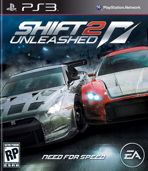 Jogo Need For Speed Shift 2 Unsleashed Frete Grátis Ps3 Nfs
