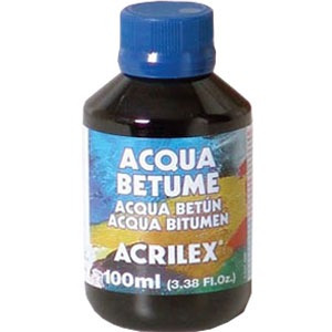 Acqua Betume Acrilex 100ml - Pacote C/ 5 Unidades