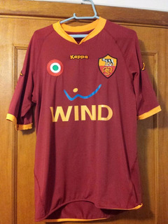 Camisa De Futebol As Roma 2009 Home - S/n - Tam M
