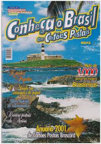 Anuário 2001 De Cartões Postais Brascard Nº 1