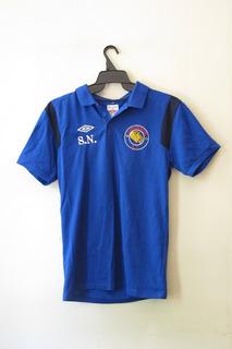 Camisa Infantil Polo Loughside Fc Azul Futebol Time Torcedor