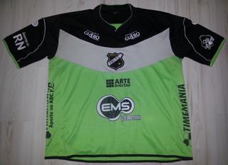 Camisa Goleiro De Jogo Abc Futebol Clube 2010 Bola De Ouro G
