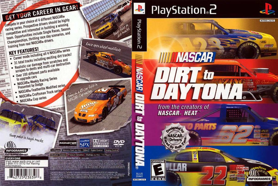 Nascar Dirt To Daytona - Playstation 2 -