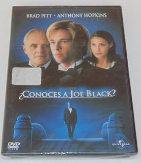 Conoces A Joe Black Brqad Pitt Pelicula En Dvd