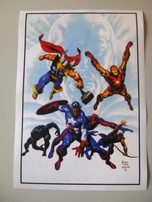 Vingadores Poster Arte De John Buscema