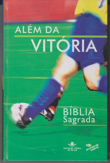 Bíblia Sagrada Além Da Vitória Com Dvd Autografada R$ 100,00
