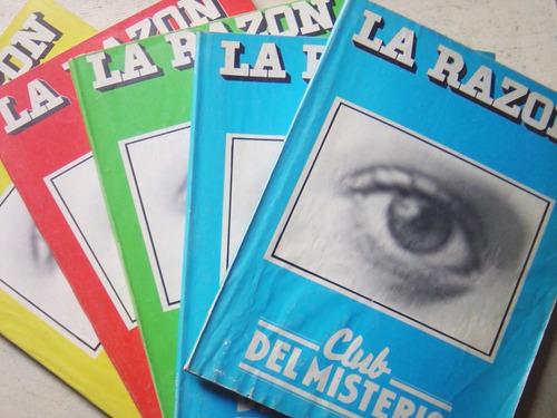 Revistas Club Del Misterio Diario La Razón / Ed. 1981