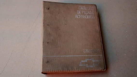 Chevrolet Catálogo Peças Utilitários Antigos C10,veraneio Gm