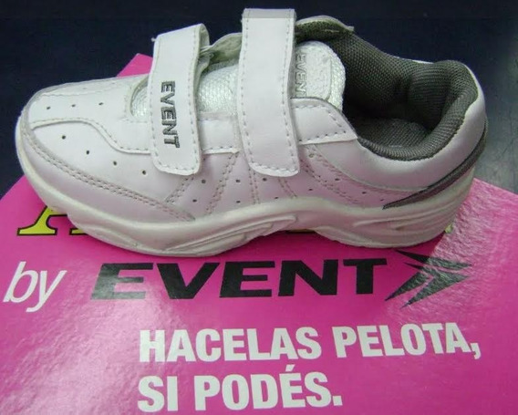 Zapatillas Colegiales Event Resistentes 27al 33 Local Centro