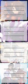 Etiquetas De Colegio De Anime De Evangelion Asuka Kaworu Rei
